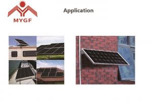 China Aluminum Frame Monocrystalline Solar Panel 50W Easy Installation For Home on sale