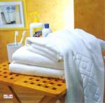 полотенца стороны руки гостиницы семьи 100% хлопок ОЭМ 35 * 70км белые голубые для людей