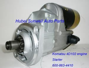 China Komatsu PC60-7 starter 4D102 engine starter 600-863-4410 on sale