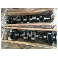 6D102 Engine Crankshaft ,  forged steel crankshaft for Komatsu PC200-7 Excavator