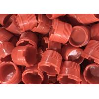 Plastic injection molded drill pipe thread protector for sale