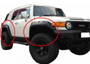 China Modified Wheel Arch Flares For TOYOTA FJ Cruiser 2007 - 2015 Fender Flares on sale