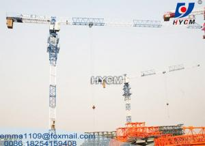 China 10tons PT6020 Less Head Tower Cranes 50m To 180m Height Buildings on sale