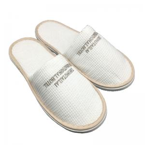 China Travel Disposable Slippers Hotel Slippers Logo Customized Home Supplies on sale