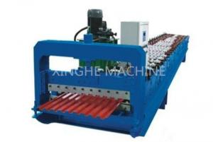 China PPGI Steel Roller Shutter Door Roll Forming MachineWith 3kw Power Motor Control on sale