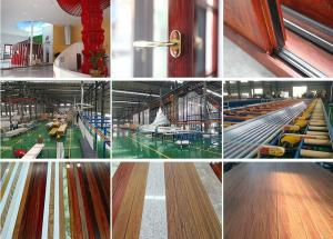 China OEM aluminium extruded profiles frames for windows and doors for sale on sale