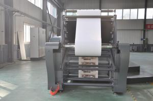 China Heavy Duty Cardboard Box Printing Machine / Uv Offset Printing Machine Intermitent Type on sale