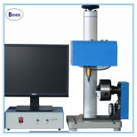 Rotary dot pin marking machine,round product air marking machine