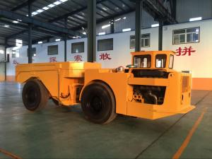 China Yellow Heavy Duty Low Profile Dump Truck For Underground Mining on sale