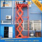 Stainless Steel Stationary Hydraulic Scissor Lift , Stationary Scissor Lift Platforms