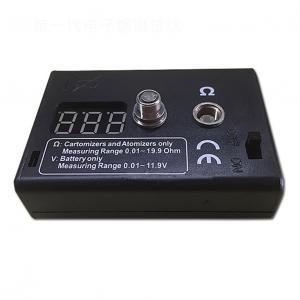China New Black Rectange Digital LED Ohm Meter Resistance Tester Reader Coil Vape RDA RBA Atomizer For Electronic Cigarette on sale