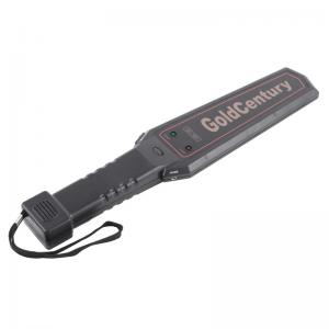 China GC-1001 Portable Metal Detector / Hand Held Gold Detector with Buzzer And LED Synchronized Alarm on sale