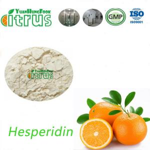 China Citrus Sinensis Hesperidin 85-97% Yellow Powder CAS 520-26-3 for Food and Medicine on sale