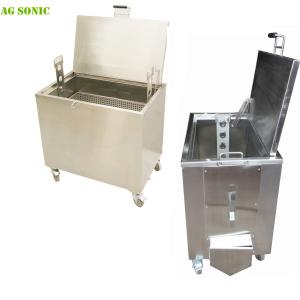 China Cookware / Oven Racks Heated Parts Cleaning Tank 230L Capacity Size Customized on sale