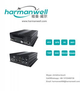 China 4G/3G Mobile truck CCTV monitoring system with 4 cameras on sale