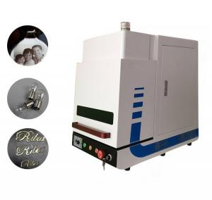 China Enclosed Desktop Type MINI Fiber Laser Marking Machine for Industrial Marking 20W on sale