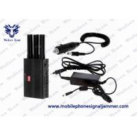 China Selectable Cell Phone Signal Jammer 3G Lojack GPS For Examination Hall on sale