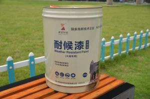 China Durable Waterproof  Dirt Resistant All Weather Exterior Paint  For Wood Decks Weatherproof on sale
