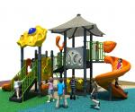 Plastic Slide Outdoor Play Ground for Kids, Play Ground Equipment Outdoor