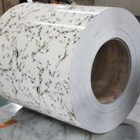 ASTM A653 Marble Color Coated Steel Coil / Sheet FOR furniture