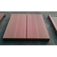 China high strength Moisture/Water resistant, less rotten Outdoor DIY WPC flooring tiles on sale