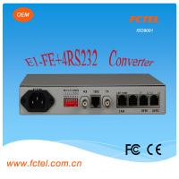China Interface protocol  converter 4e1 to Eth With one  lan  Protocol Converter on sale