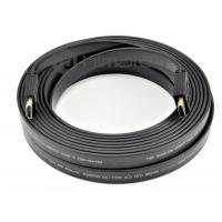 China 50 Foot 4k HDMI Cable , Flat High Speed HDMI Cable 4k For LCD Display Monitor on sale