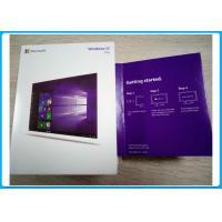 2 GB RAM Microsoft Windows 10 Pro 64 Bit Oem License/ Keys With USB Installation