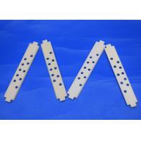 High Temperature Resistant 99.5% Al2O3 Alumina Ceramic Strips with Porous Holes