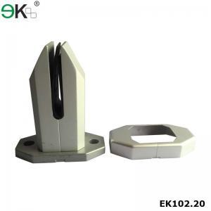 China aluminum base plate frameless glass balustrade spigots-EK102.20 on sale