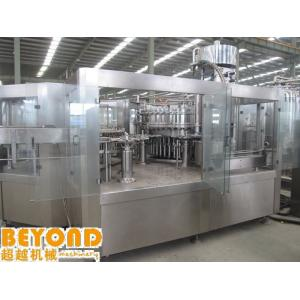 China Custom Programmable PLC Control Carbonated Beverage Filling Machine on sale