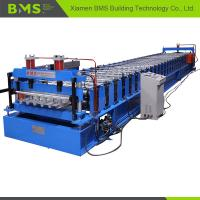 China ISO9001 CE SGS Metal Deck Forming Machine , Floor Tile Making Machine 5.5kw+3kw on sale