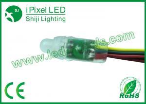 China Digital 12mm Round RGB LED String Light Ws2801 IC pixel led on sale