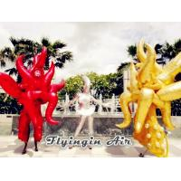 Customized Party and Stage Decor Inflatable Flame Costumes for Adults