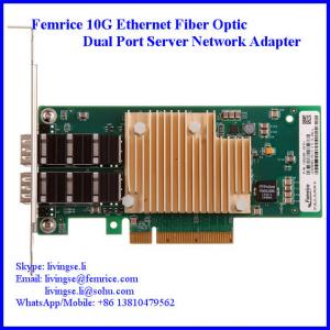 China 10 Gbps Fiber Optical Server NIC, 2 Port Network Server Network Card/ Adapter, Intel X520-SR2 (E10G42BFSR) on sale