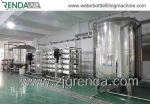 China RO Pure Water Treatment Systems / Mineral Water Treatment System 220V on sale