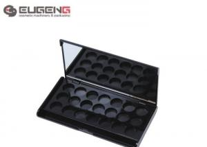 China Luxury Multi Color ABS Empty Eyeshadow Containers Square With Small Pan on sale