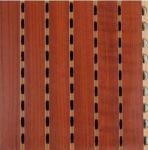 12mm Thickness Decorative Wooden Grooved Acoustic Panel for Ceiling and Wall