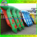 China Popular Funny Inflatable Towable Flying Fish Boat For Water Amusement  Equipment wholesale