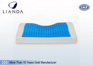 China High Density Cooling gel memory foam pillow for summer good sleep on sale