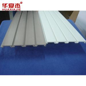 China Lowes Plastic Material Garage Storage Slatwall Panels Combination Slatwall on sale