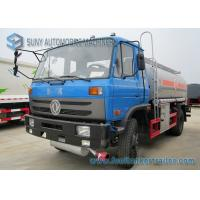 170HP 4x2 Transport Oil Chemical Tanker Truck Dong Feng Vehicles