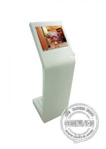 China Full multi touch screen kiosk , 22 inch LCD display with music album on sale
