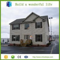 modern prefab duplex steel frame house portable pre fabricated villa