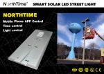 High Lumens 80W Smart Solar Street Light With Bridgelux LED Chips