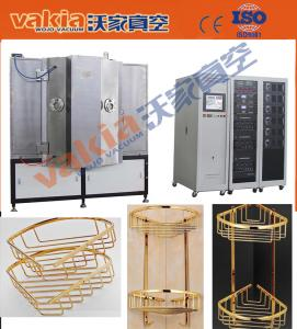 China Metal Vacuum Decorative PVD Coating Machine , Metal Decorative Vacuum COating Equipment on sale