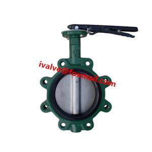 China 4 Inch Butterfly Valve Lug Type on sale