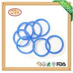 Blue NBR O Ring Rubber Seal Oil Resistance For Machinary With RoHs Report
