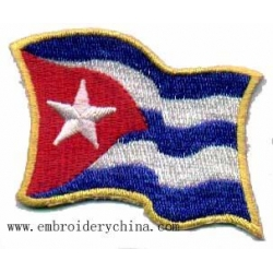 China National Flags Embroidery Patch on sale