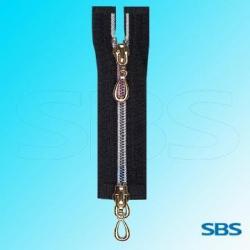 China No 5 nylon zipper with rainbow teeth two ways A/L O/E on sale
